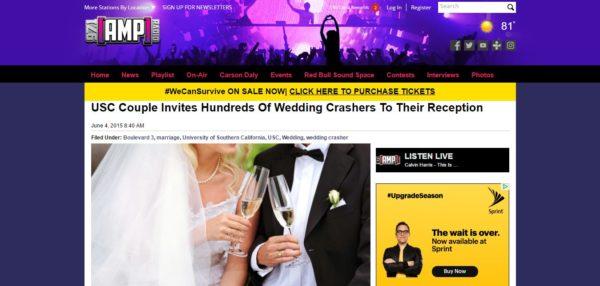 Riddersen Wedding Carson Daly Radio